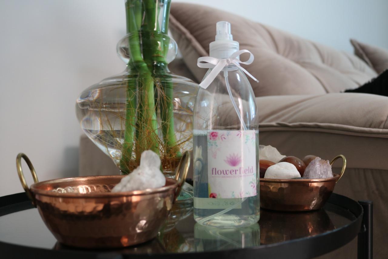 Água Perfumada Spray 500ml para Borrifar - Diversos Aromas FlowerField