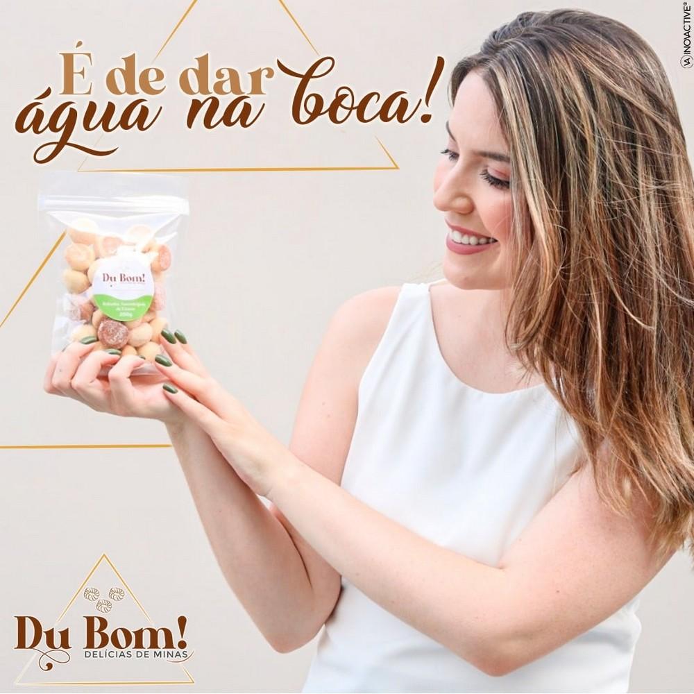 Bolacha Caipira 200Grs Du Bom Delícias de Minas - Rosquinhas
