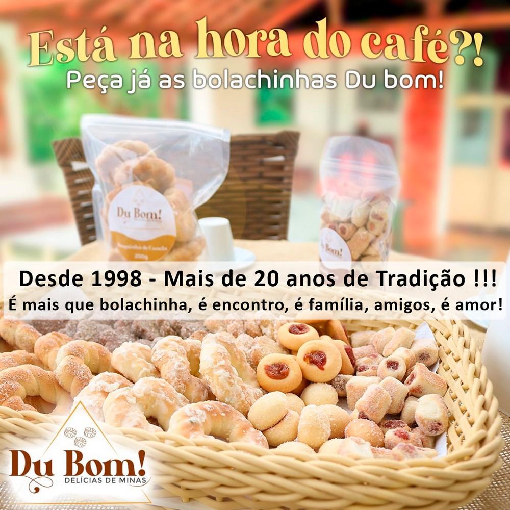 Bolacha de Café 200Grs Du Bom Delícias de Minas - Rosquinhas