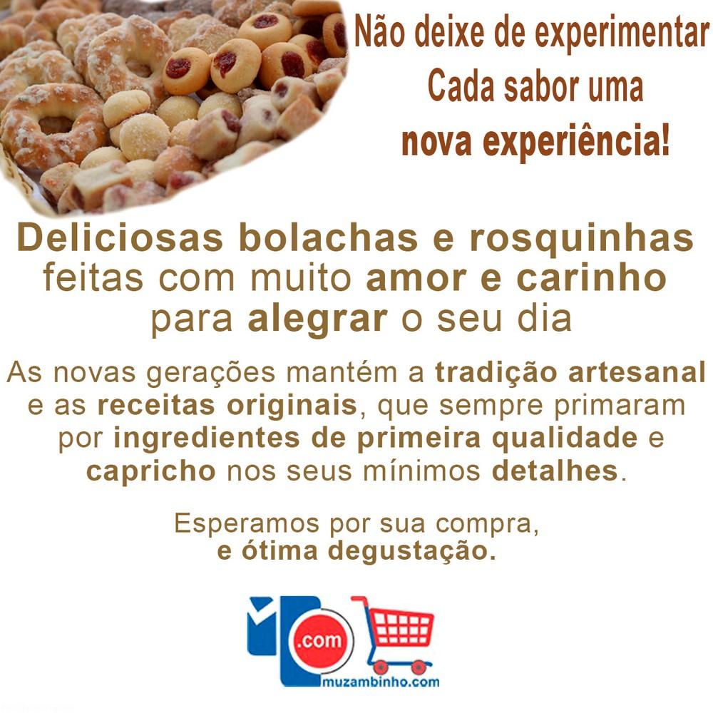 Bolacha de Castanha 200Grs Du Bom Delícias de Minas - Rosquinhas