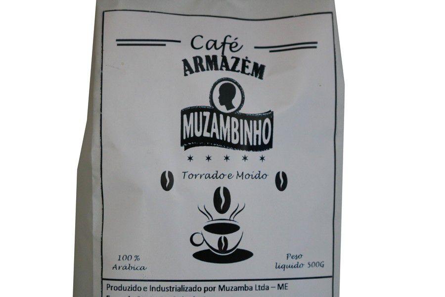Café Armazém Muzambinho Torrado e Moído 500Gr