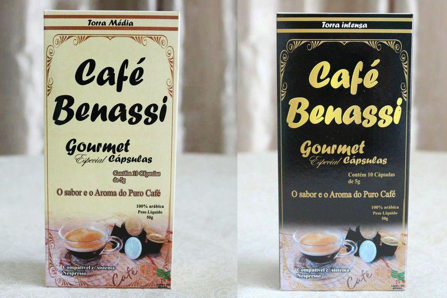 Café Benassi Gourmet Especial Capsulas 5g - Torra Média e Intensa