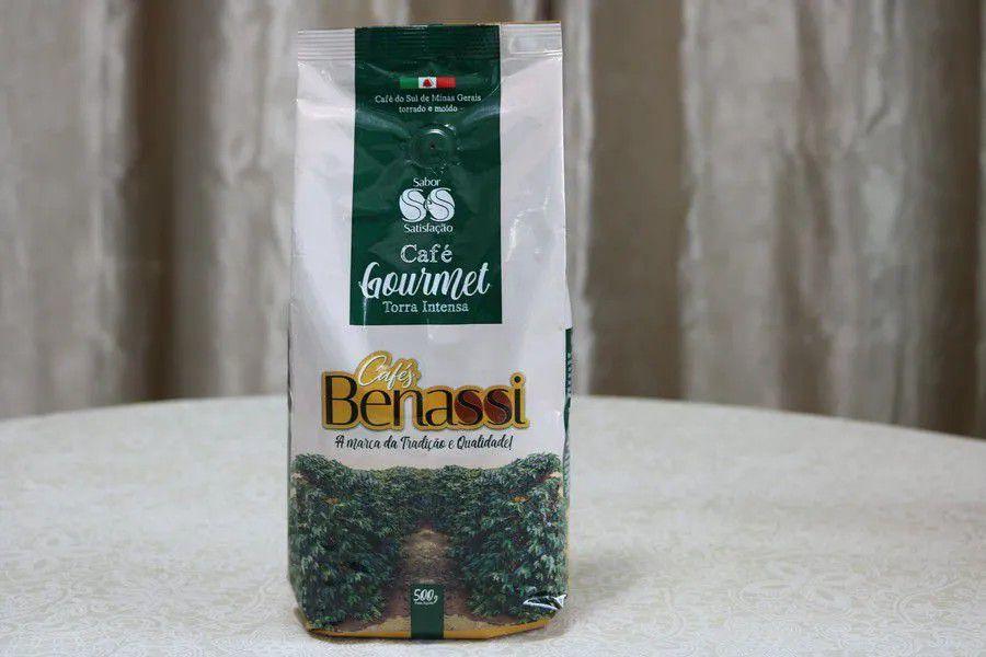 Café Benassi Gourmet Especial e Superior 500gr - Torrado e Moído.