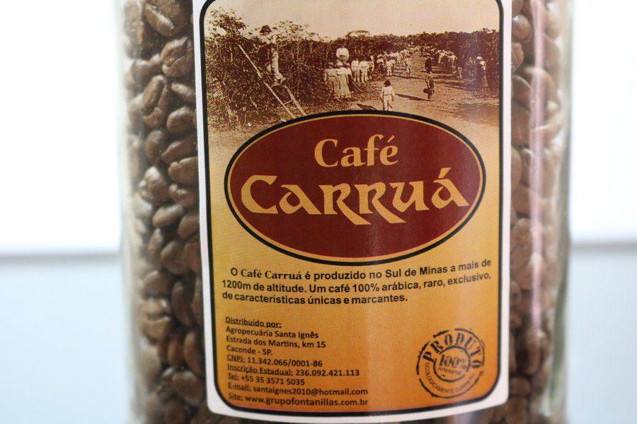 Café Carruá de Garrafa 300gr em Grãos