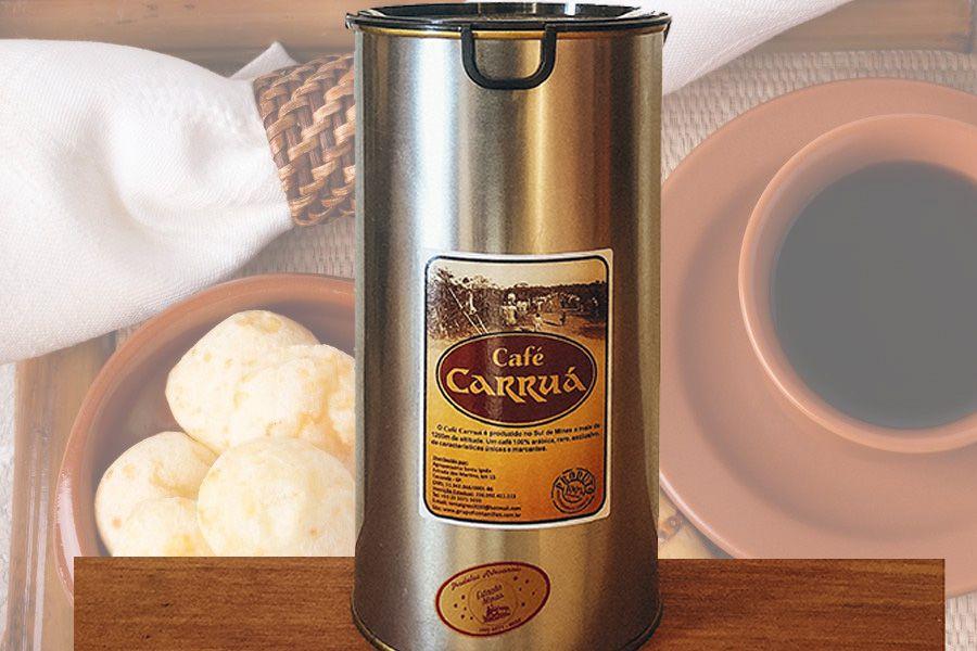 Café Carruá de Lata 500gr - Reserva Especial - Torrado e Moído