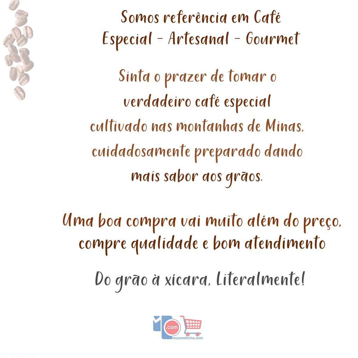 Café Carruá Torrado e Moído 500Gr. 100% Arábica - Cafés Especiais