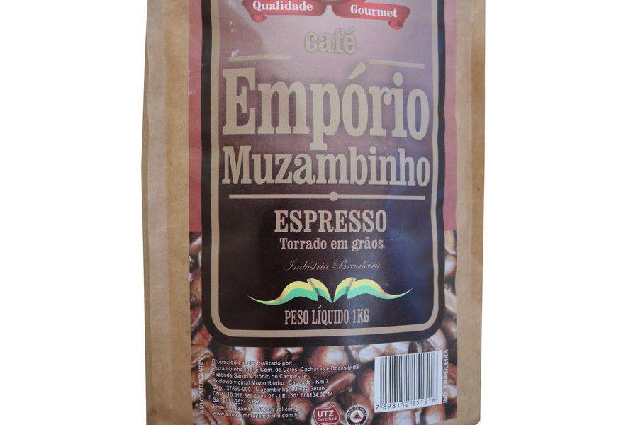 Café Empório Muzambinho Gourmet 1Kg em Grãos