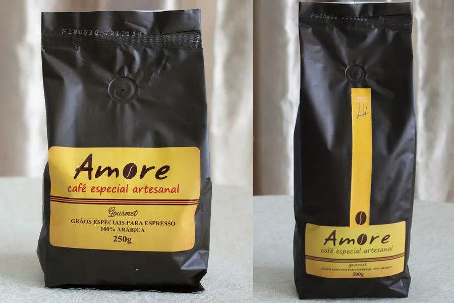 Café Especial Artesanal Gourmet Amore - 250 e 500gr em Grãos