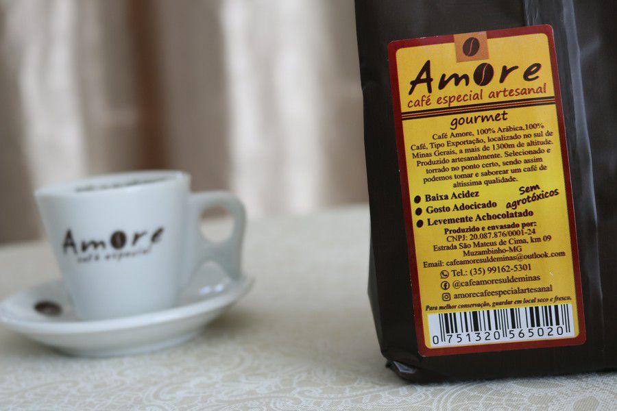 Café Especial Artesanal Gourmet Amore - 250 e 500gr Torrado e Moído
