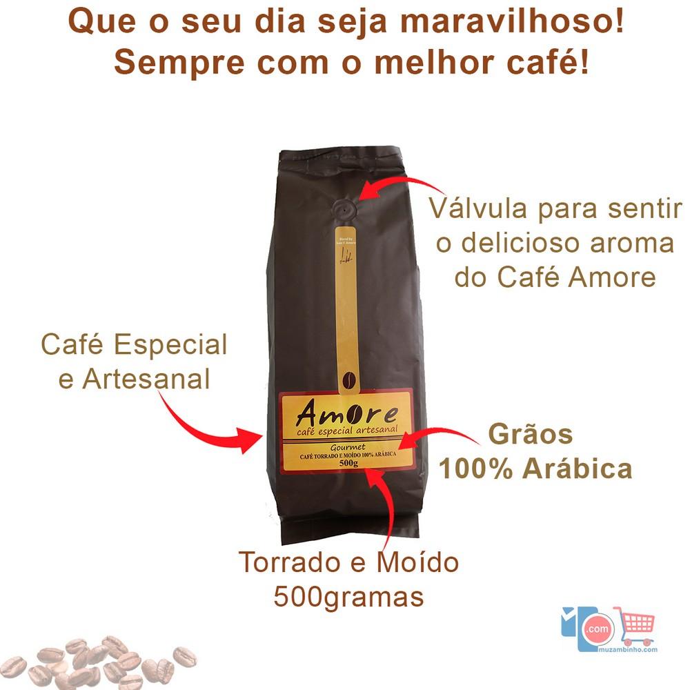 Café Especial Artesanal Gourmet Amore - 500gr em Grãos