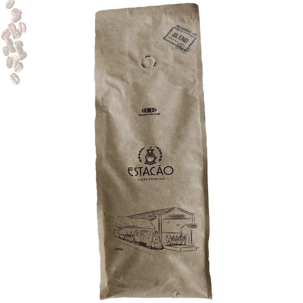 Café Estação Blend 500gr Torrado e Moído - Especial 100% Arábica