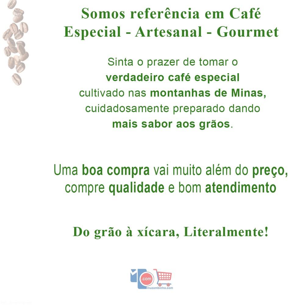 Café Estação Gourmet Torrado e em Grãos 1 Kg - Especial 100% Arábica