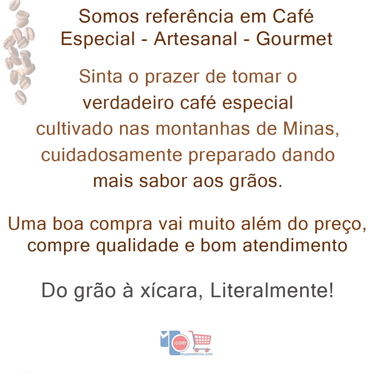 Café Manuedo Torrado e Moído 500gr - Café Especial 100% Arábica