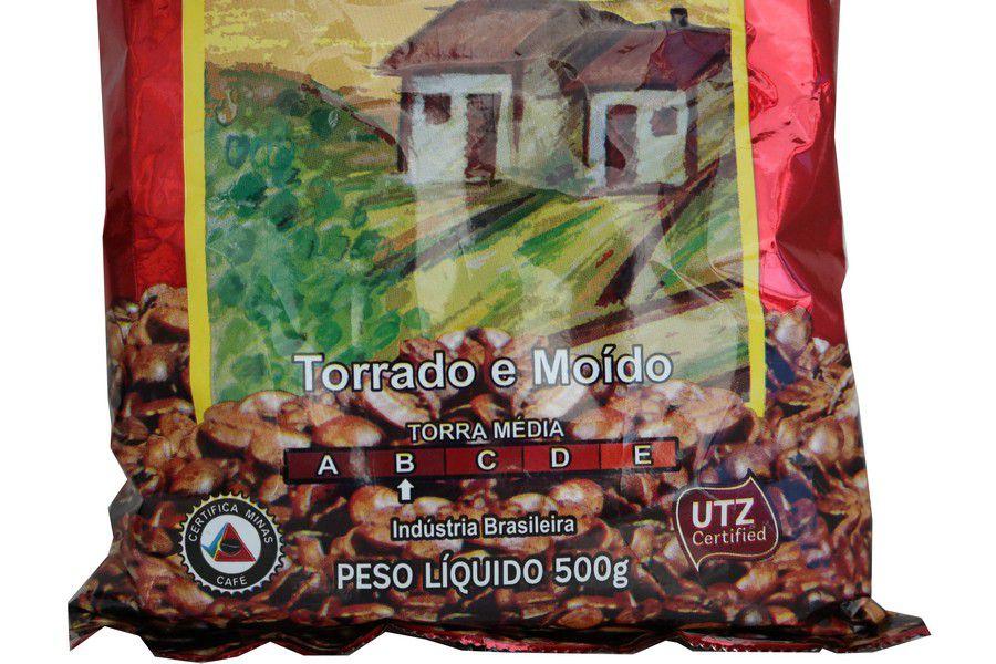 Café Muzambinho Torrado e Moído 500gr - Almofada