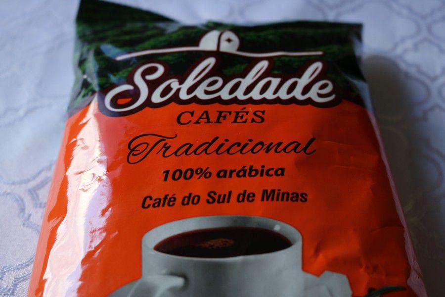 Soledade Cafés Tradicional 500g - Torrado e Moído