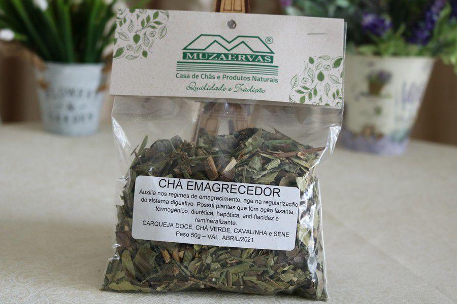 Chá Emagrecedor - Seca Barriga - FIT - 40gr e 50gr - Muzaervas