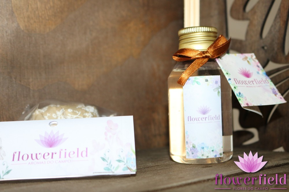 Difusor de Ambiente com Varetas - Aroma: Boutique Fragance - FlowerField