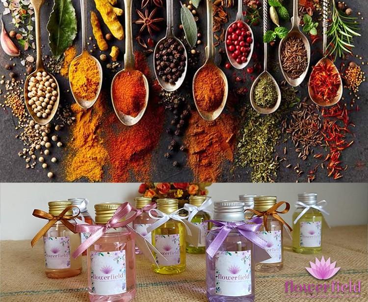 Difusor de Ambiente com Varetas - Aromas Dvs: Especiarias - Flowerfield