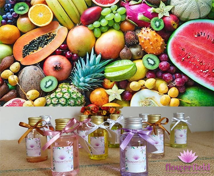 Difusor de Ambiente com Varetas - Aromas Dvs: Frutados - Flowerfield