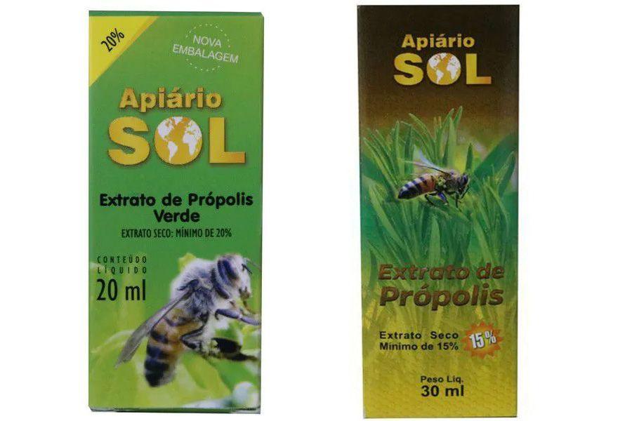 Extrato de Própolis Sol 20ml e 30ml