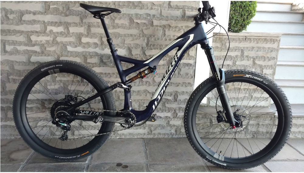 Bicicleta Specialized Stumpjumper Expert Evo Carbon 650B - SEMI NOVA