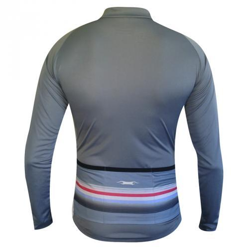 Camisa de Ciclismo Damatta Plain Manga Longa BI-10  - IBIKES