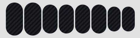 Protetor para quadro Lizard Skins Carbon - Patch Kit Carbon Leather  - IBIKES