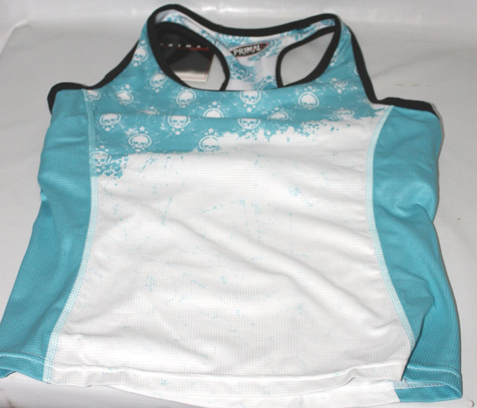 Camiseta de Ciclismo Primal Feminina Star Crest - Teal
