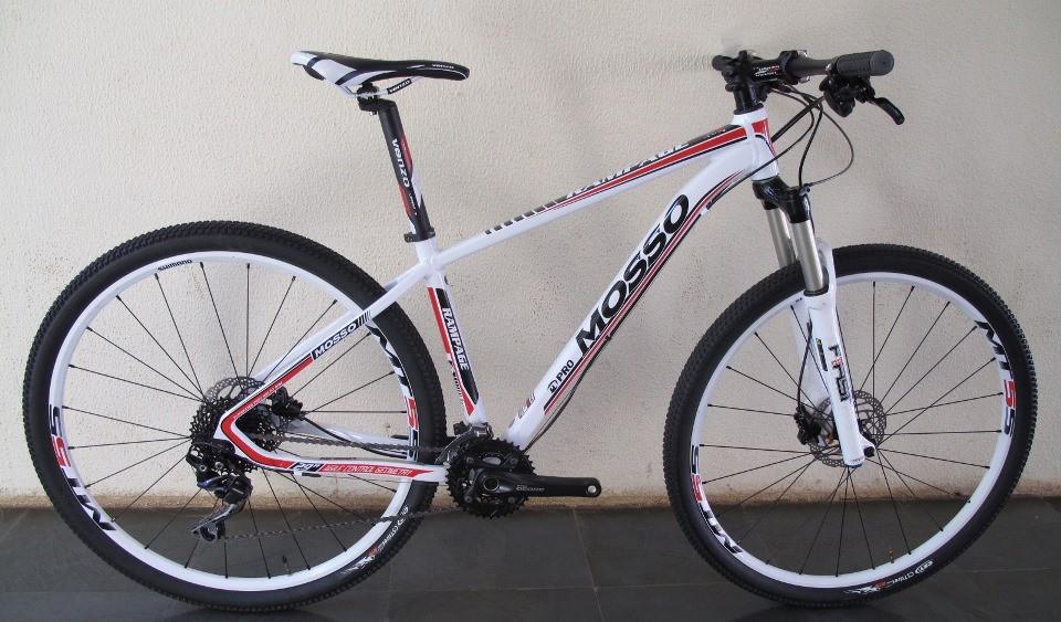 Bicicleta Mosso Rampage 29 Er. (Deore 2x10)