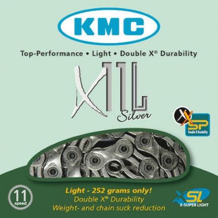 Corrente KMC X11 L Silver 11 Velocidades