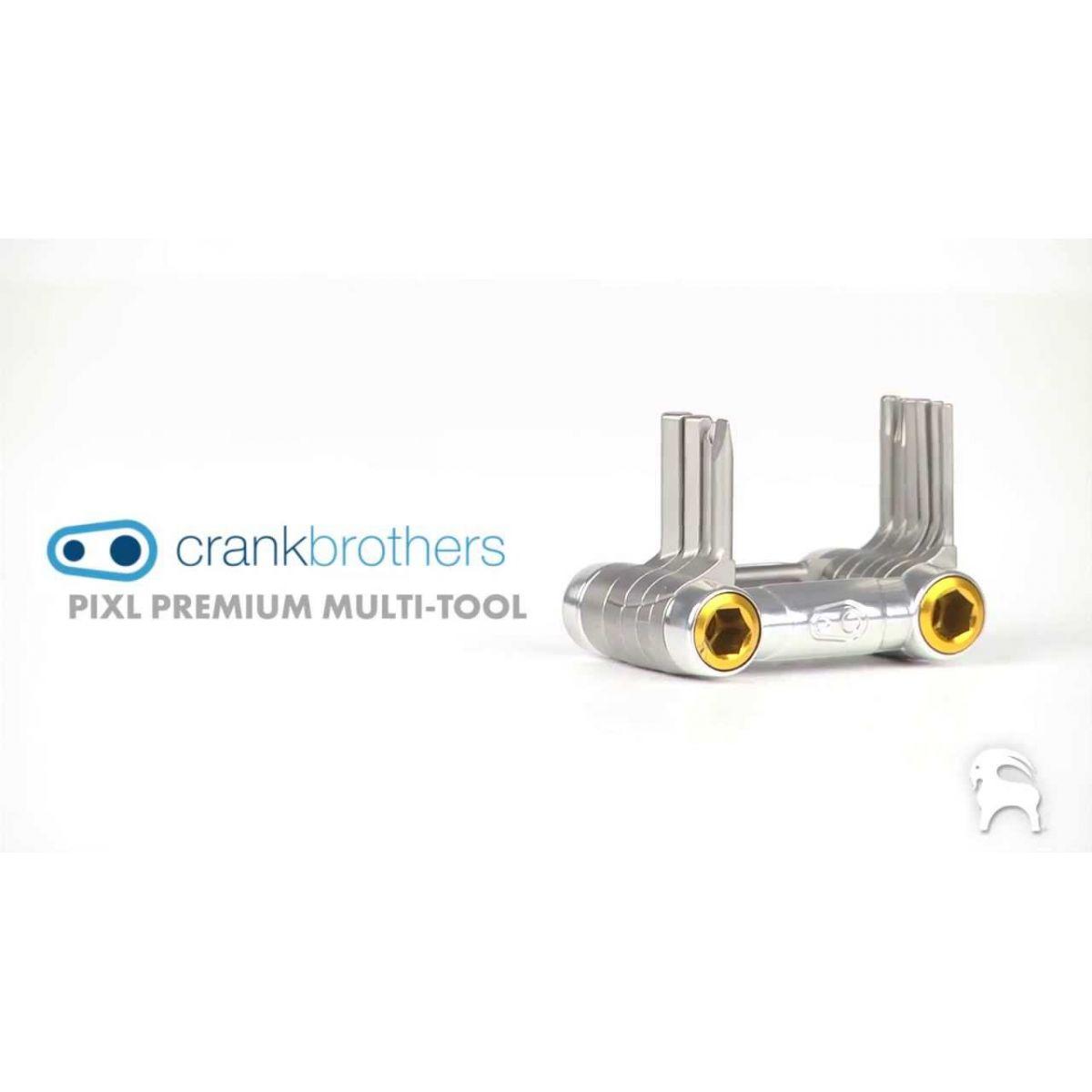 Canivete de Ferramentas Crank Brothers Premiun pixl 11 Funções