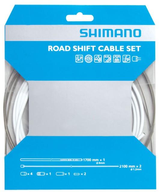 Conjunto de Cabos e Conduites PTFE Shimano Road SP41  - IBIKES