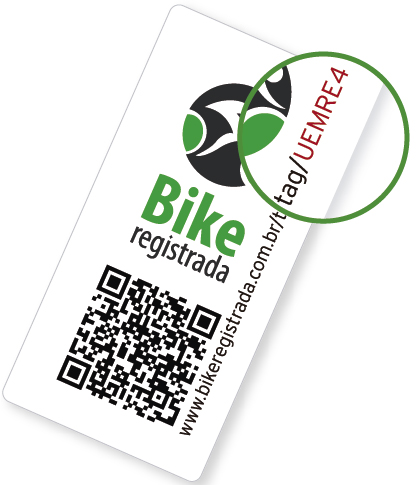 Selo Bike Registrada  - IBIKES