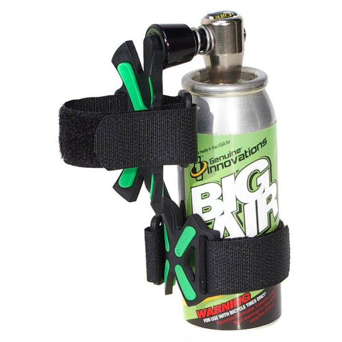 Cartucho CO2 Big Air Chuck Elite e Suporte X-Mount
