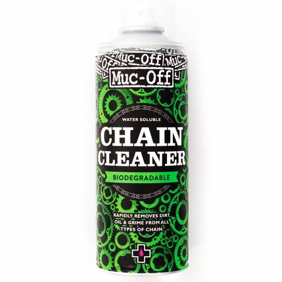 Desengraxante MUC OFF Chain Cleaner Biodegradavel em Spray 400ml