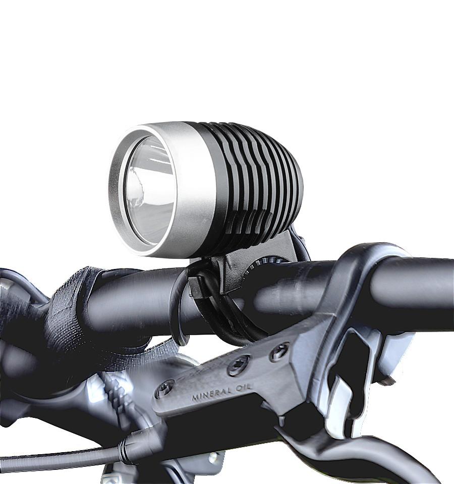 Farol Dianteiro JY-8010A-1 1000 Lumens Led e Bateria Recarregavel