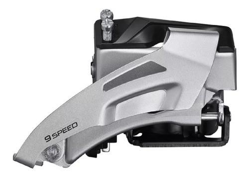 Câmbio Dianteiro Shimano Altus FD-M2020 2x9v 34.9mm