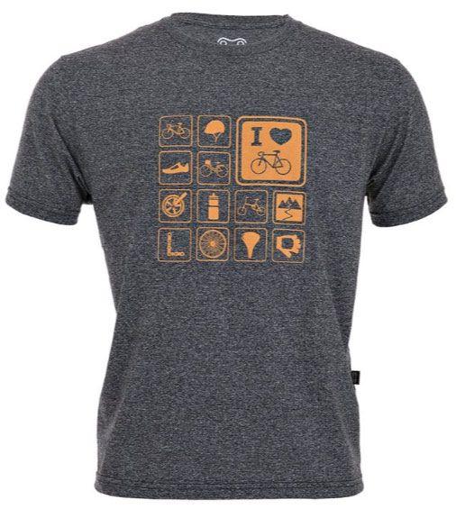 Camiseta Casual Marcio May Temas de Bike Mouline