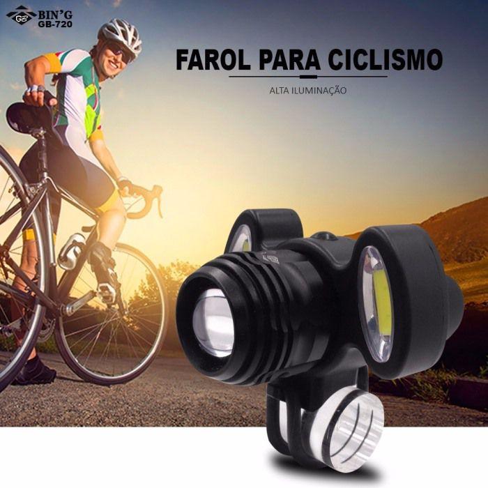 Farol Dianteiro Bin'g GB-720