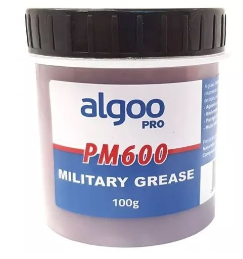 Graxa Algoo Pro Militar PM600  - IBIKES