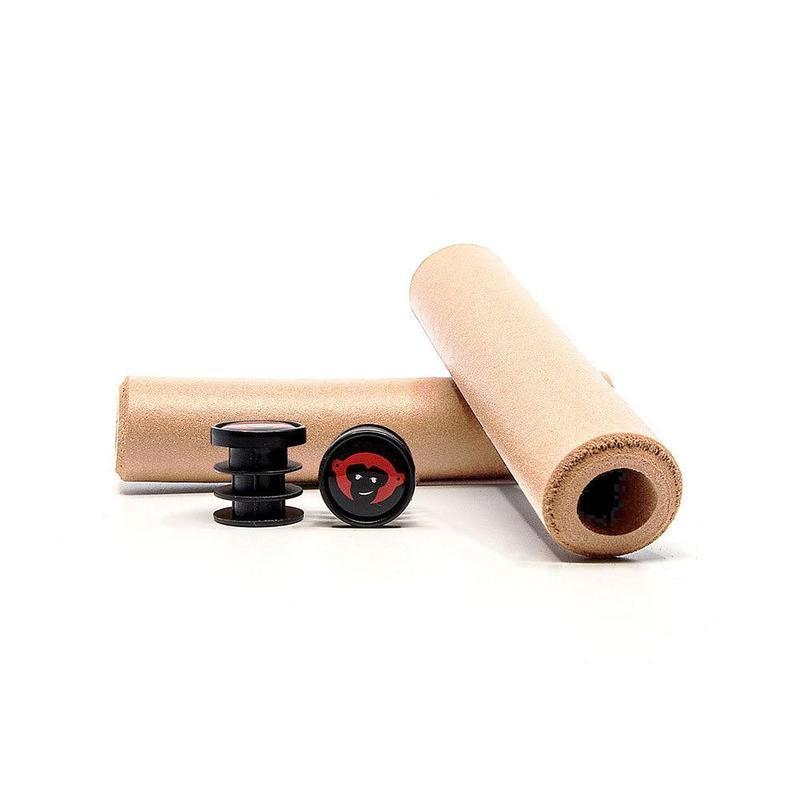 Manopla/punho em Silicone Red Monkey Karv XT 6.5/132mm  - IBIKES
