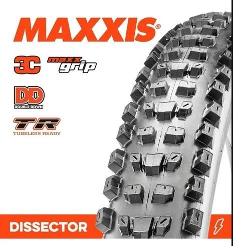Pneu Maxxis Dissector WT/3CG/DD/TR 27.5X2.40