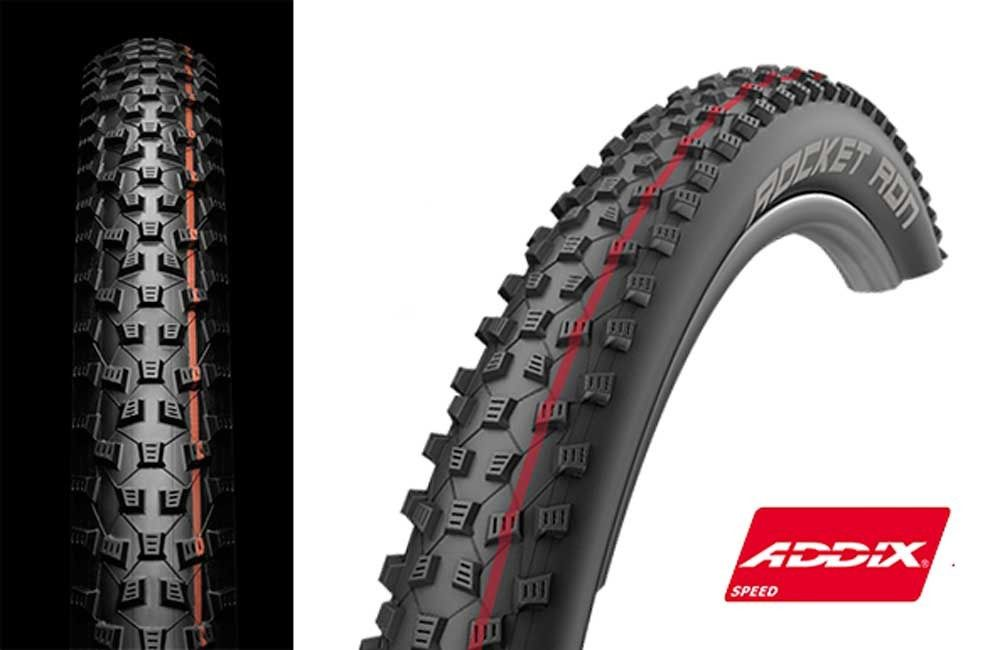 Pneu Schwalbe Rocket Ron EVO TLE  3 Pace Star SnakeSkin 29 x 2.25 ADDIX Speed