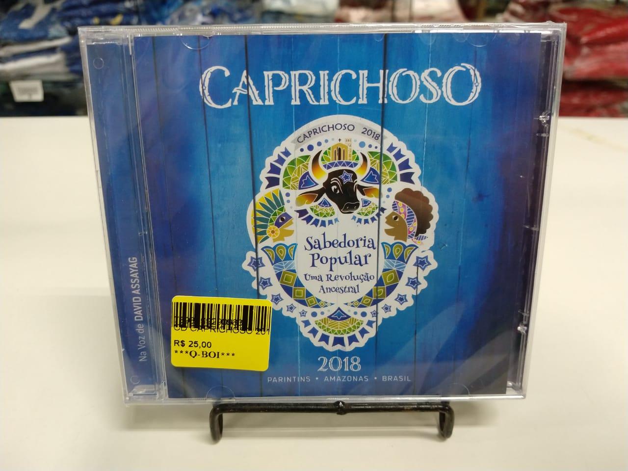 CD CAPRICHOSO 2018 - Q BOI Produtos do Festival de Parintins
