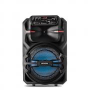 Caixa Amplificada Mondial CM-200 com Bluetooth, Potência 200W, USB Rádio FM e Função TWS, Bivolt Preto