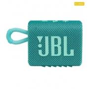 Caixa de Som Bluetooth 4W GO 3 Verde Água JBL - Original