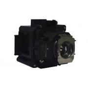 LÂMPADA P/ PROJETOR EPSON POWERLITE 4200W 4300 PRO G5650W G5650WNL G5750WU G5750WUNL G950 G5950NL H345A H347A H349A (ELPLP63 / V13H010L63) COMPLETA COM SUPORTE