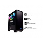 PC Gamer Intel® Core i5-2320 3.0GHz 8GB SSD 256GB GeForce GTX 1650 4GB