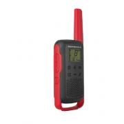Rádio Comunicador Talkabout 32km T210BR Vermelho/Preto MOTOROLA