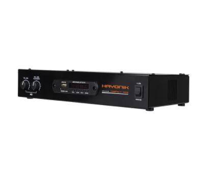 Amplificador 80W com Bluetooth COMPACT 1000 Preto HAYONIK